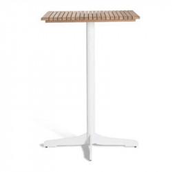 Table haute avec plateau en Teck - CERU - OASIQ