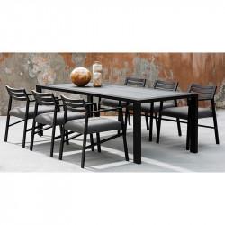 Table de Jardin Rectangulaire en Métal - NIDO - INCITTA