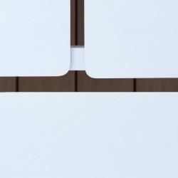 Table basse en aluminium avec 4 plateaux - FERMO - lemobilierdejardin.fr