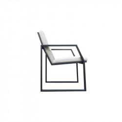 Salon de Jardin Design en Verre & Aluminium - MAHE - incitta