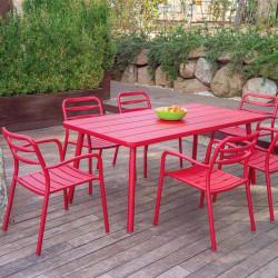 Chaise de jardin empilable - BASEL - lemobilierdejardin.fr