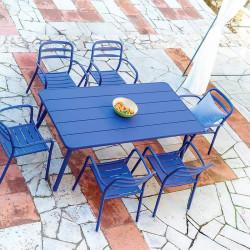 Ensemble déjeuner de jardin - BASEL - lemobilierdejardin.fr