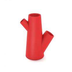 Jardinière design rouge - KAKTUS