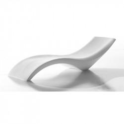 Bain de soleil blanc design - CLOE - myyour