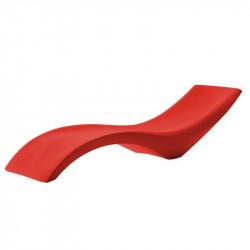 Bain de soleil design rouge - CLOE - myyour