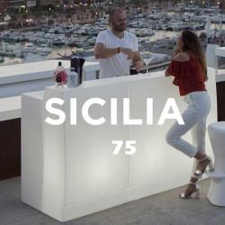 Bar lumineux - SICILIA 75 - lemobilierdejardin.fr