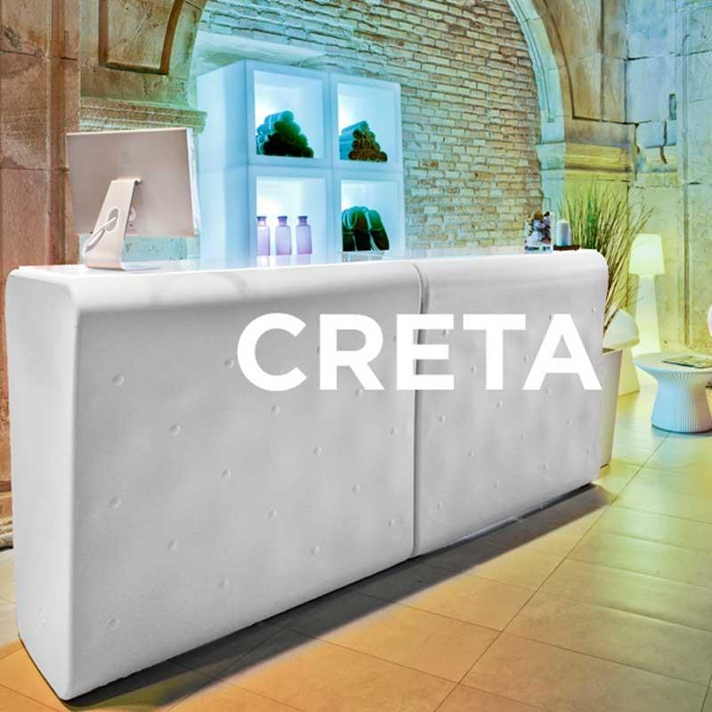 Bar lumineux outdoor - CRETA 120 - Newgarden
