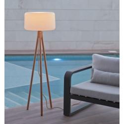 Luminaire sur pieds en bois - CHLOÉ - Newgarden
