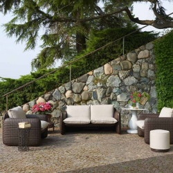 Fauteuil de jardin pour intérieur et extérieur - MARA - SLIDE