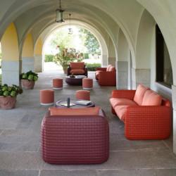 Ensemble Salon de jardin pour intérieur et extérieur - MARA - lemobilierdejardin.fr