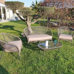 Salon de jardin - TRINIDAD - varangue - lemobilierdejardin.fr