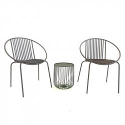 Salon de jardin pour balcon - SAMBA - lemobilierdejardin.fr