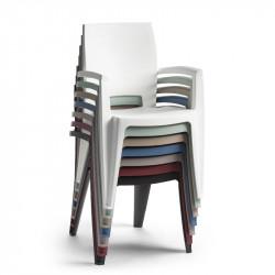 Lot de 6 fauteuil de jardin - AVIVA