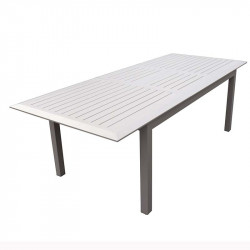 Table de jardin extensible - MAJUNGA - lemobilierdejardin.fr