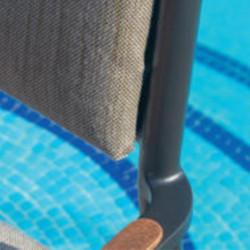 Chaise de jardin - BONIGEN - lemobilierdejardin.fr