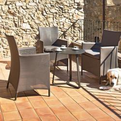 Chaise de jardin en terrasse - CALIFORNIA - lemobilierdejardin.fr