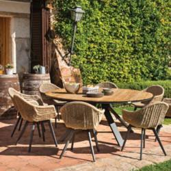 Table de jardin jardin - CASTOR - lemobilierdejardin.fr