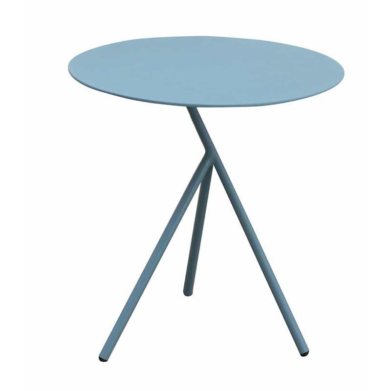 Table auxiliaire de jardin bleu - EXPLORER - lemobilierdejardin.fr