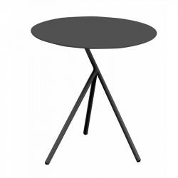 Table auxiliaire de jardin noir - EXPLORER - lemobilierdejardin.fr