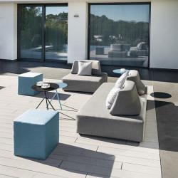 Table auxiliaire de jardin en terrasse - EXPLORER - lemobilierdejardin.fr