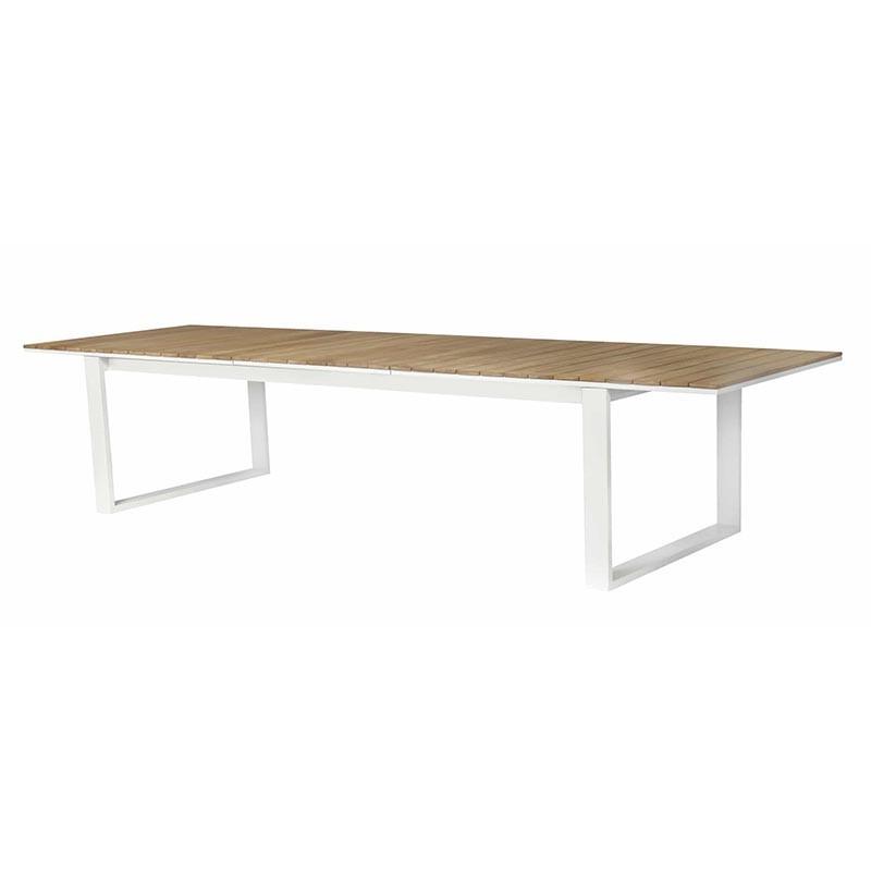 Table de jardin - FERMO Teck - lemobilierdejardin.fr