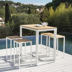 Table haute de jardin - FERMO - lemobilierdejardin.fr