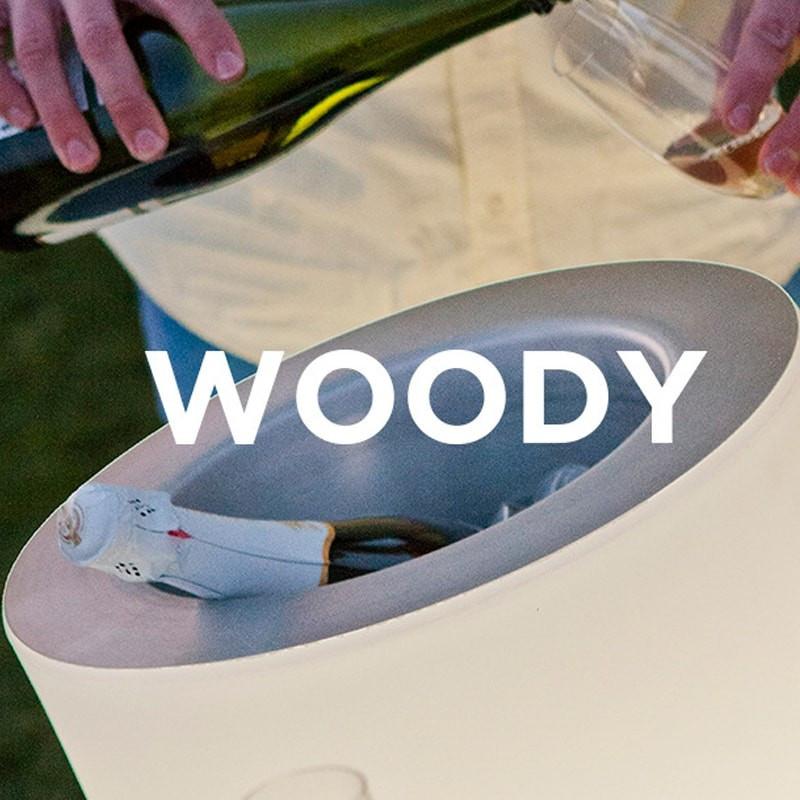 Seau à glace & enceinte - WOODY-PLAY - Newgarden