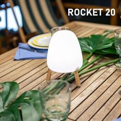 Lampe de table rechargeable...