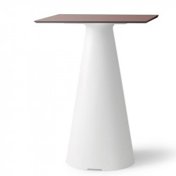 Table bistrot de jardin design et coloré - TIFFANY - LYXO