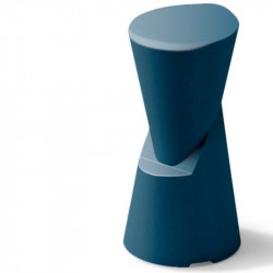 Tabouret de bar bleu - DOT - LYXO