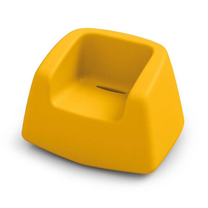 Fauteuil de jardin jaune - SUGAR - LYXO