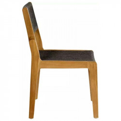 Chaise de repas en teck - SKAGEN - OASIQ