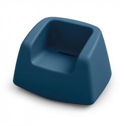Fauteuil de jardin bleu marine - SUGAR - LYXO