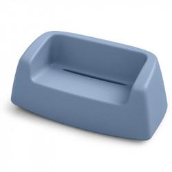 Canapé de jardin bleu ciel - SUGAR - LYXO