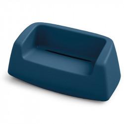 Canapé de jardin bleu marine - SUGAR - LYXO