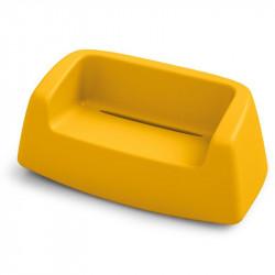 Canapé de jardin jaune - SUGAR - LYXO