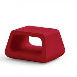 Table basse rouge - SUGAR - LYXO