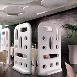 Cloison séparateur d'espaces intérieurs ou extérieurs - GROOVE - LYXO