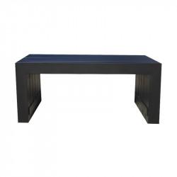 Table Basse Moderne Rectangulaire en Aluminium - TULUM - INCITTA