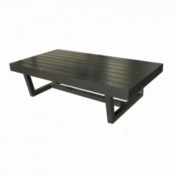 Table Basse Moderne Rectangulaire en Aluminium - DIANI - INCITTA