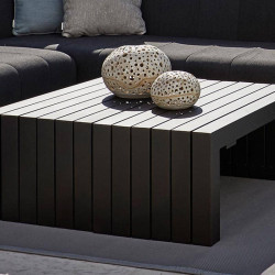 Table Basse Rectangulaire en Aluminium - TULUM - INCITTA