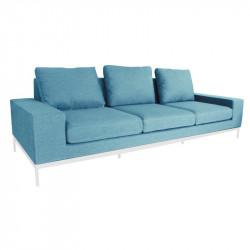 Canapé 3 places bleu - Seven - INCITTA