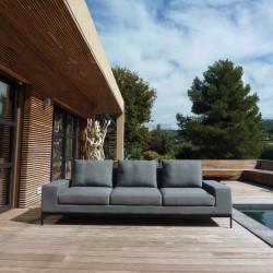 Canapé 3 places Seven en terrasse - INCITTA
