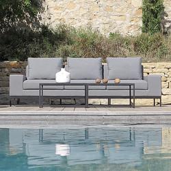 Canapé 3 places Seven au bord de la piscine - INCITTA