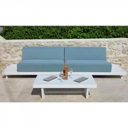 Canapé 3 Places Design en Aluminium - DIANI - INCITTA