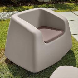 Salon de jardin avec coussins - SUGAR - LYXO