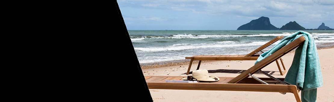 Mobilier de plage - TRANSAT & BAIN DE SOLEIL - lemobilierdejardin.fr